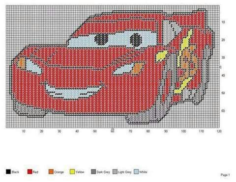 CARS * LIGHTNING MCQUEEN by JODY