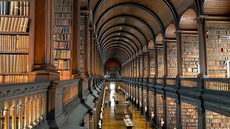 Trinity College Library. #Stunning