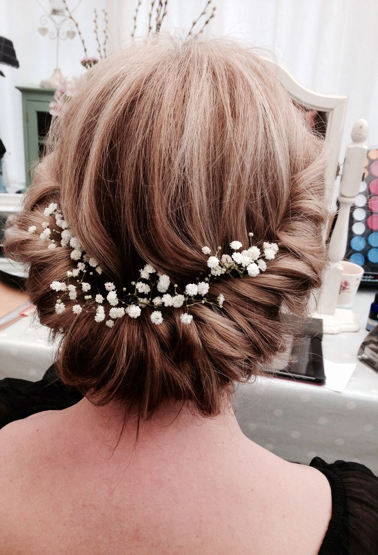 Bridesmaid Hair X See More Vintage Roll Adorned With Gyp By Www Simplybeautifulweddinghair Co Uk