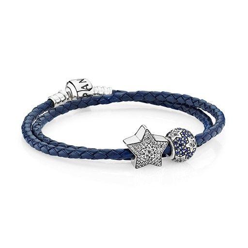 pandora charms bleu marine