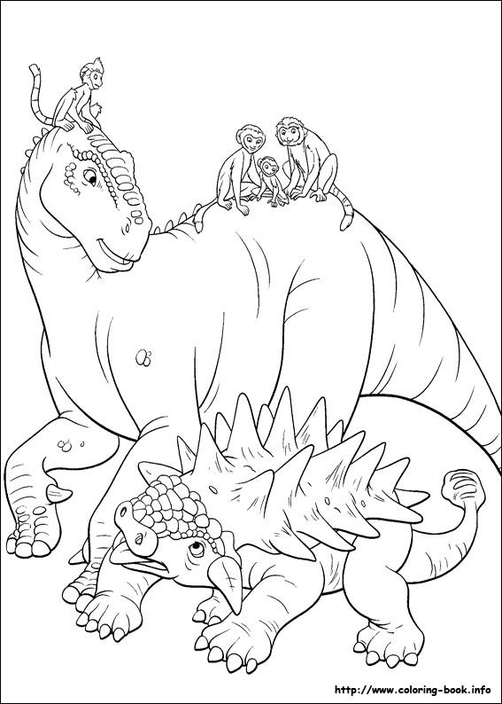 Coloring Books For Adults Dinosaurs : 17 best images about dinosaurs on pinterest coloring dinosaur