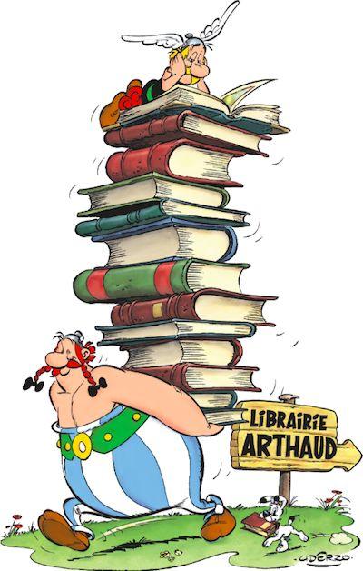 Grenoble : un deuxième album pour la librairie Arthaud, Uderzo compris - Les univers du livre