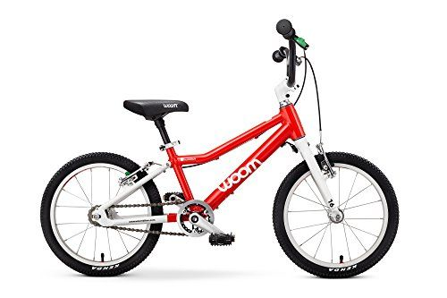 Woom 3 Pedal Bike 16 Ages 4 To 6 Years Red You Can Get