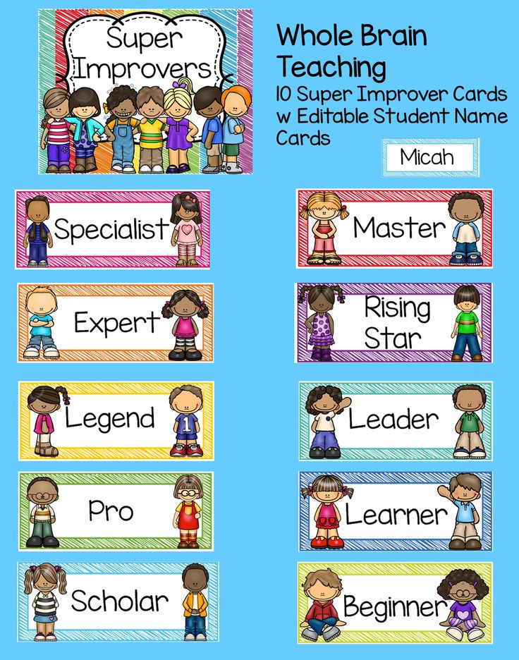 Whole Brain Teaching Posters ~Class Rules~ Scoreboard & Super Improvers Wall. Super cute set!