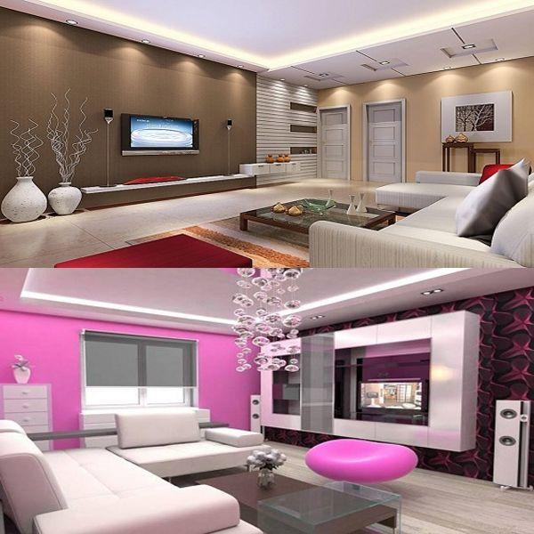 20 Latest Hall Colour Designs With Pictures Vastu Tips Hall Colour Colour Combination For Hall Wall Color Combination