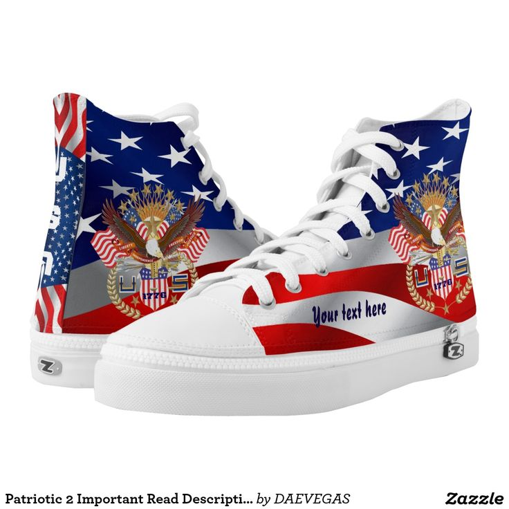 NEW custom High Top ZIPZ® shoes The small z is a zipper not meant for Zazzle