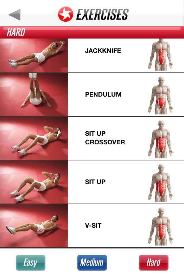 Here is the full Ab Workout if anyone was interested - Shows beginner, intermediate and advanced versions!