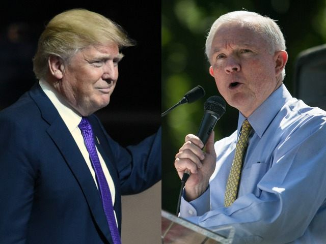 Donald Trump picked up the most significant endorsement any presidential candidate in the GOP can get in Alabama: Sen. Jeff Sessions