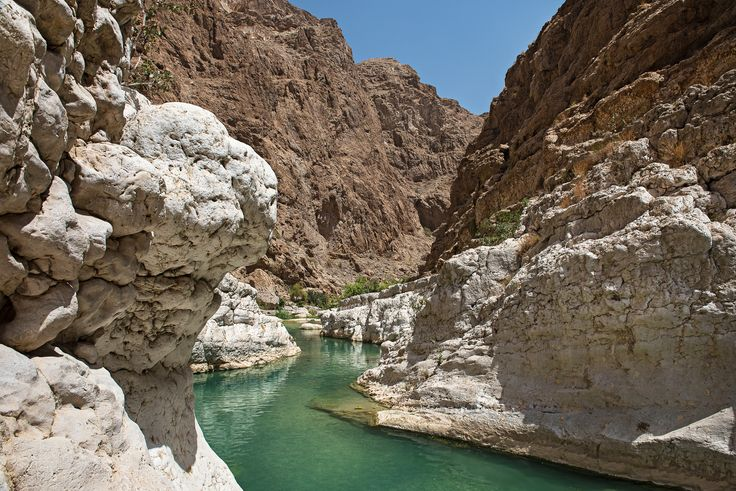 The Wadi Shab - The beautiful desert oasis of Wadi Shab…