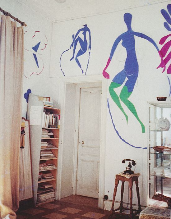 Henri Matisse's studio, Hotel Regina, Nice, ca. 1952