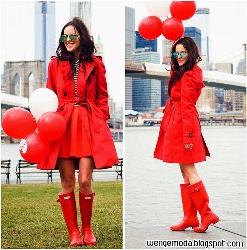 Wenge Moda: Hunter Yağmur Çizmeleri #hunter