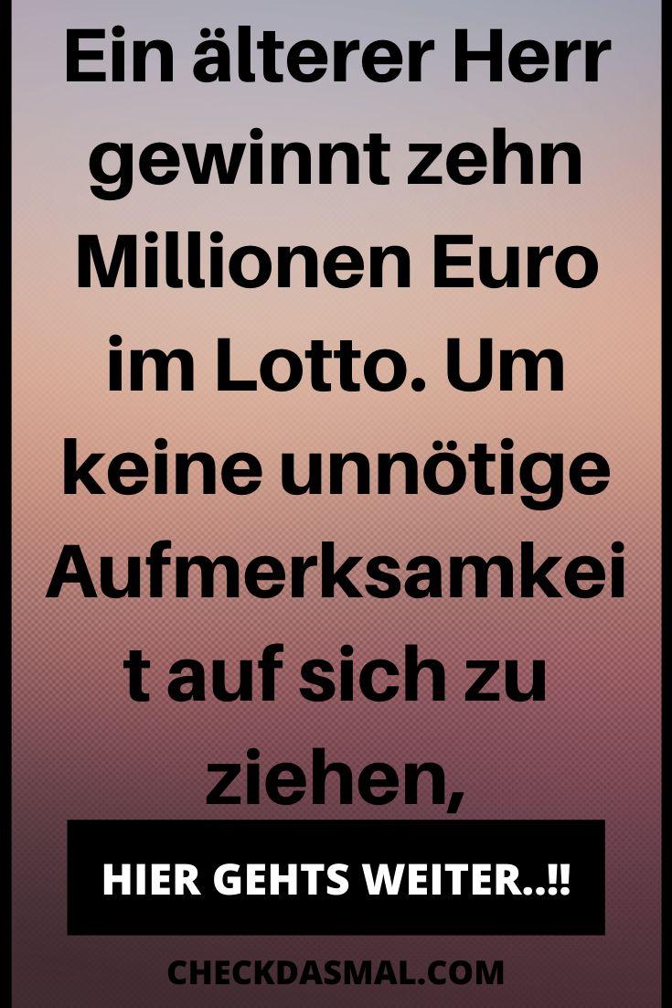 zehn Millionen Euro gewonnen   Lustige witze zum totlachen