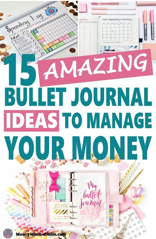 15 amazing bullet journal ideas to manage your money budget
