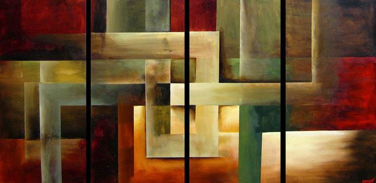 Abstract art online gallery, original abstract art paintings and modern art by Osnat Tzadok - Toronto, Canada