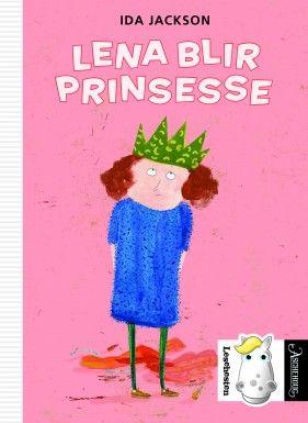 Den tredje boken om Lena i Den hvite lesehesten. Denne gangen handler det om prinsessekamp.