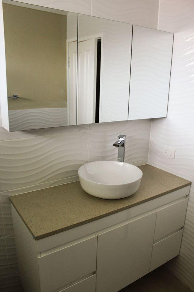 3 Piece 1200mm Mirror Cabinet   Bathroom Renovation Camillo