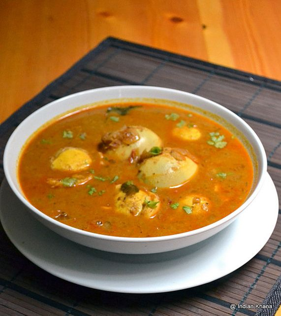 Egg Kurma Curry South Indian Style Recipe by Priti_S