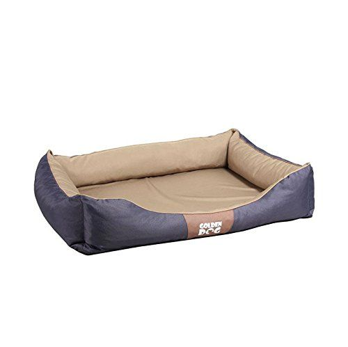 Aus der Kategorie Betten  gibt es, zum Preis von EUR 39,90  <p><b>Hundebett Kwadrat</b></p> Verwöhnen Sie Ihren besten Freund mit einem komfortabel gepolsterten rechteckigen Schlafplätzchen und er wird sich bei Ihnen puddelwohl fühlen. Der Hundeliegeplatz bewirkt dank seiner geriffelten Polsterung ein wohliges warmes Gefühl und bettet Ihren Vierbeiner in die schönsten Träume.  <p><b>Alle Vorzüge auf einen Blick:</b></p>  <p><b>Material:</b></p> Bezug aus 100% Polyester  <br /> Füllung aus…