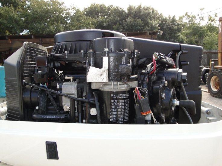 2004 Johnson Evinrude 90 Hp 2 Stroke 20 Outboard Motor