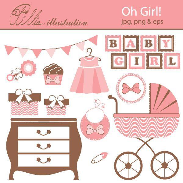 free printable girl vintage shower - Bing Images