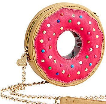 Cute Doughnuts - bag by Betsey Johnson - large bags, online bag shop, big bags *sponsored https://www.pinterest.com/bags_bag/ https://www.pinterest.com/explore/bags/ https://www.pinterest.com/bags_bag/leather-bags-for-men/ http://www.zappos.com/bags