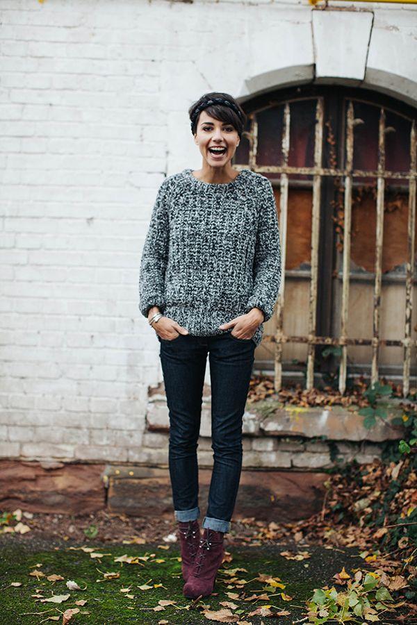 La tenue simple mais efficace: j'adore!