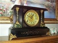 My Grandmother had a clock very similar to this.