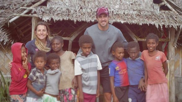 El Rowland & Lee Carseldine from Survivor 2016 are on a mission to help woman and children from Fiji's most underprivileged communities.   Please help Involvement Volunteers to spread our message of woman's empowerment by sharing this message or donating to the cause at https://www.mycause.com.au/page/166454/trade-of-hope-fiji-women-and-children-commune
