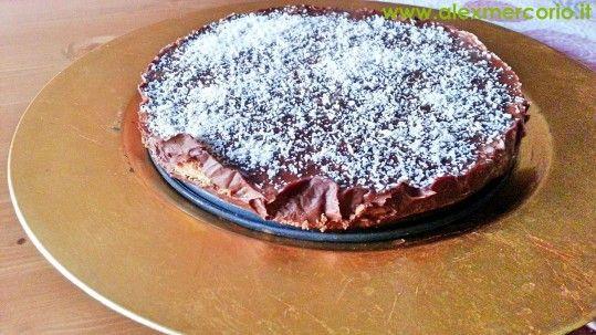 Torta cioccococco senza forno