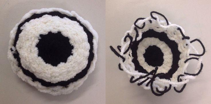 Year 10 radial weave sample (KMHS).
