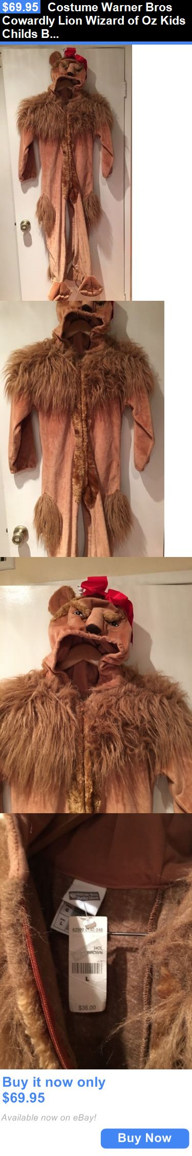 best ideas about cowardly lion wizard of oz lion halloween costumes kids costume warner bros cowardly lion wizard of oz kids childs boy girl