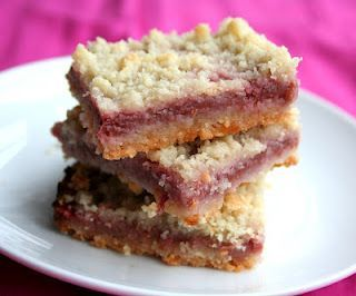 Strawberry Rhubarb Crumb Bars (Low Carb and Gluten-Free) | All Day I Dream About Food