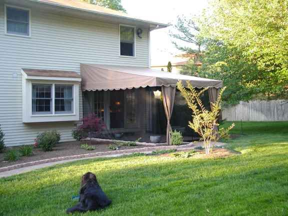 Mosquito Netting With Retractable Awning 600 For Netting