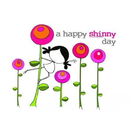 """Lámina """"Shinny day"""" Levantarse y bailar el alma. Llenar de luz el corazón. Cargarse de energía bonita y ponerse a cantar (en privado/modo """"desatado""""). A disfrutar con cada detalle de este día que comienza al son de nuestro: Eeeegunon mundo!! un bonito día a colores"""