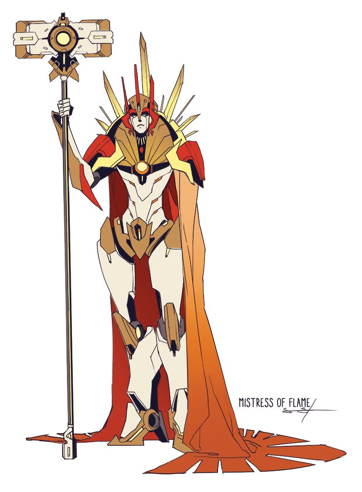 Mistress of Flame - Transformers