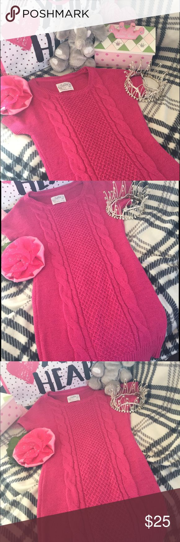 👸🏼🛍Pink Argyle Sweater Dress 👗🎀 Justice 12 💐 🎀Gorgeous pink 💗argyle sweater dress 👗form Justice 🛍size 12 👑worn just once for a recital 💐 like new condition ✨👛 Justice Dresses Casual