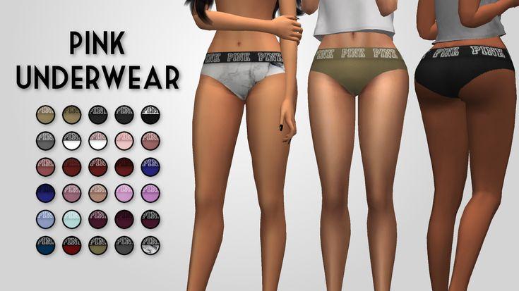 PLUMBOBJUICE: PINK Underwear
