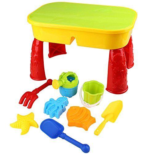 cool Peradix Mesita Cajón de Arena y Agua Con Accesorios para Playa, Piscina, Tina de Baño o Cinéticos de Arena Juguetes para Bebé y Niños Pequeños Mas info: http://comprargangas.com/producto/peradix-mesita-cajon-de-arena-y-agua-con-accesorios-para-playa-piscina-tina-de-bano-o-cineticos-de-arena-juguetes-para-bebe-y-ninos-pequenos/