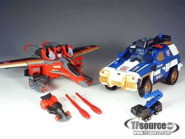 transformers  energon prowl | tfsource vintage transformers energon superlink energon loose figures