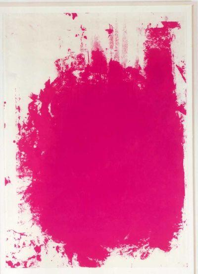 Christopher Wool hot pink amazingness