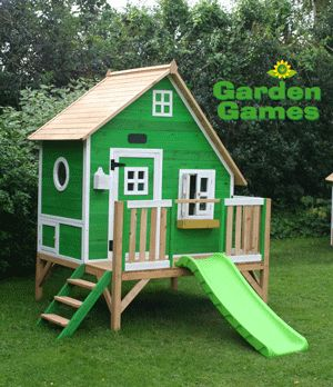 Image detail for -Crooked Mansion Play House by Garden Games Ltd