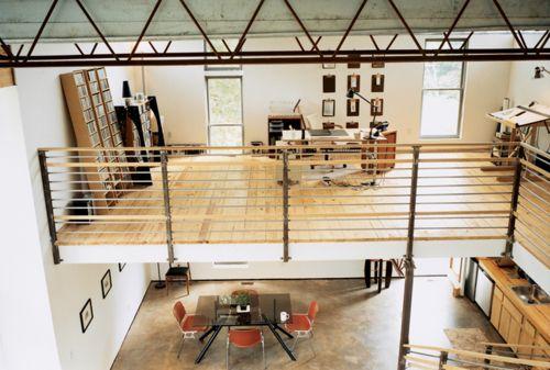 Loft / hauteur sous plafond - espace