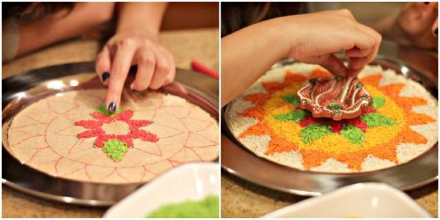 1000 images about innovative ideas on pinterest design for Aarti thali decoration with rice