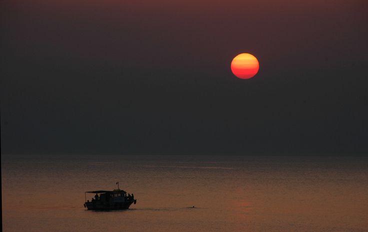 500px'te Oguz Buktel tarafından Bozcaada'da günbatımı fotoğrafı