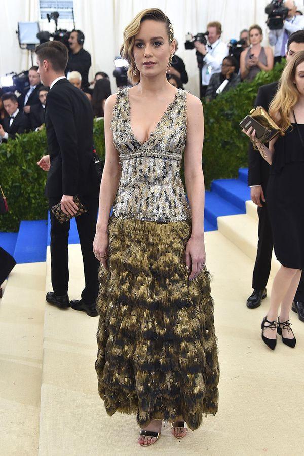 Brie Larson Met Gala 2017, Бри Ларсон Met Gala 2017