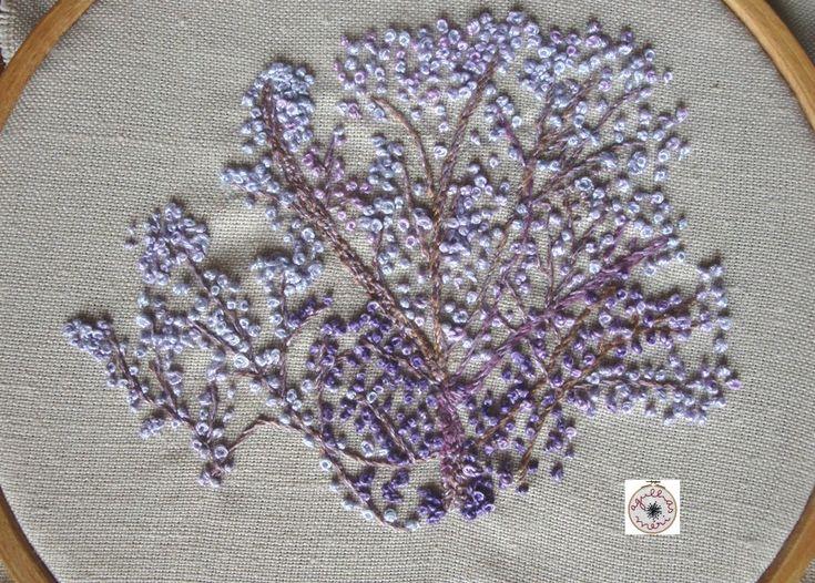 air embroidery Junho | Jacarandá | agulhas da Méri®