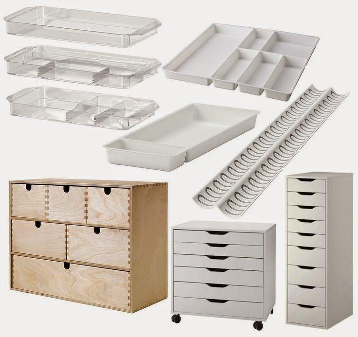 1000 id es propos de tiroirs de rangement de maquillage sur pinterest st - Ikea cree sa chambre ...