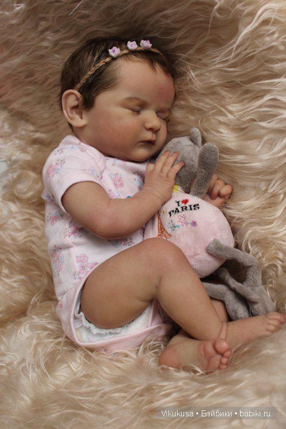 Добрый день, дорогие жители сайта:) Хочу представить вашему вниманию куклу-реборн из нового молда Scarlett by Bonnie Brown. Добро пожаловать к