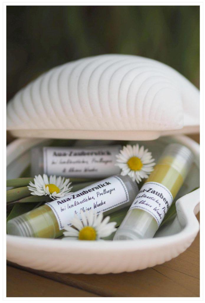 DIY Aua-Zauberstick für unsere Kleinen: bei Insektenstichen, Prellungen and kleinen Wunden