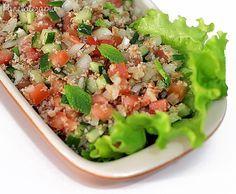 PANELATERAPIA - Blog de Culinária, Gastronomia e Receitas: Tabule